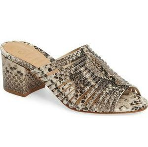 Schutz Cecillya Block Heel Sandal size 5.5