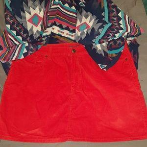Gap mini skirt size 16