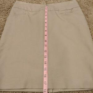 Banana Republic Pencil Suit Skirt Beige Size 2