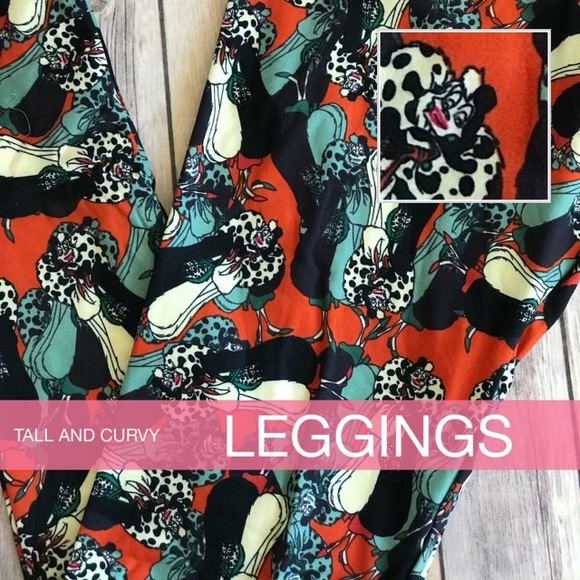 1b7ffa7f52beb0 LuLaRoe Pants | Nwt Disney Cruella Deville Tc Leggings | Poshmark