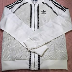 Adidas zip up sweatshirt