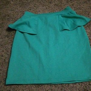 Dresses & Skirts - Turquoise dress skirt