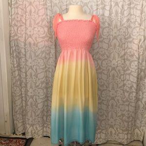 Juliana Collezione rainbow dress