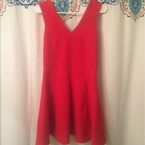 Red cocktail dress size 4