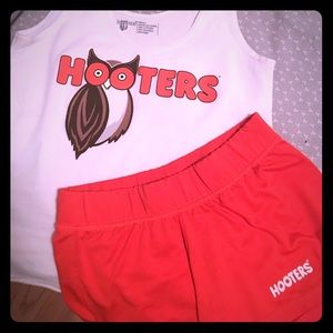 Hooters Costume- Size Small Pants and Top