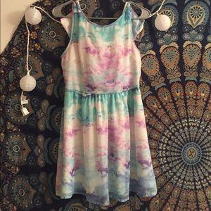 Tie dye forever 21 dress
