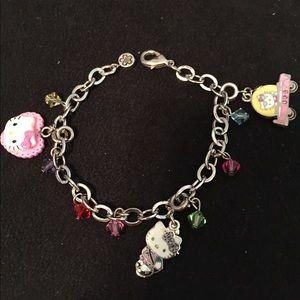 "Hello Kitty 8"" Charm Bracelet"
