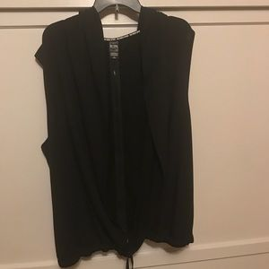 Black vest from Victoria Secret