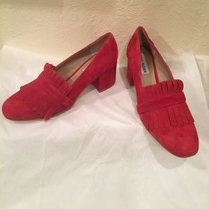 🔥. Steve Madden Kate Suede   Loafers Pump 🔥New