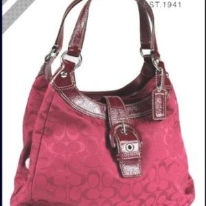 NEW Coach Soho Signature Hobo