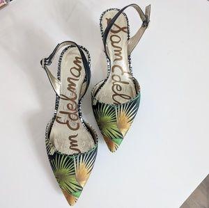 Sam Edelman Carol Slingback Heel Size 8.5