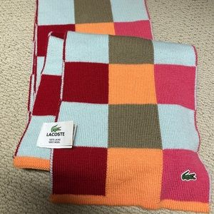 Authentic Lacoste scarf
