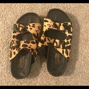 Steve Madden Birkenstock styled sandals