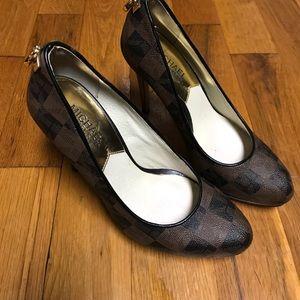 Michael Kors platform high heels size 6