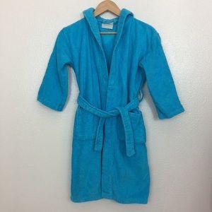 Kid's Turquoise Terry Robe