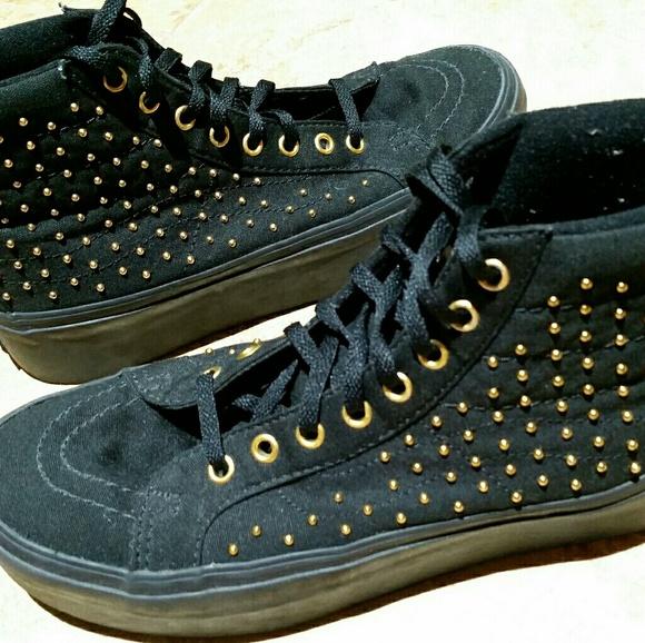 b93043fc58 Vans Shoes - Vans Studded SK8-HI Platforms