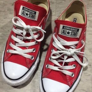 RED CONVERSE UNISEX