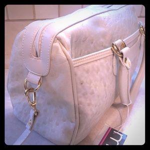 MSL satchel handbag with crossbody strap