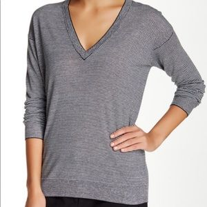 Theory Trulinda Eternal Striped Sweater