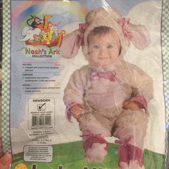 Lucky Lil/' Lamb Costume