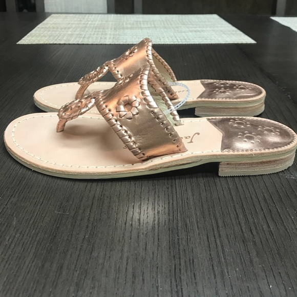 b7c19520ce58 Jack Rogers Shoes - Jack Rogers Women s West Hampton Sandal ‑Rose Gold