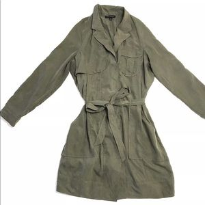 Banana Republic The Belted Trench Dress Modal