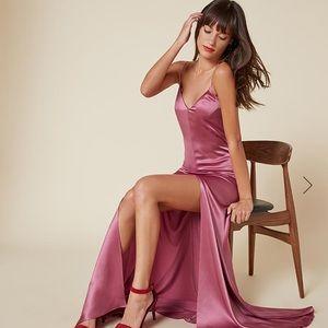 NWT Reformation Cabot silk dress