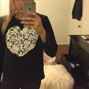 Tibi pullover sweatshirt