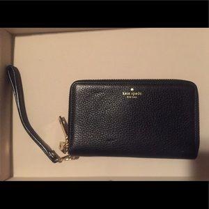Kate Spade Double Zip Wallet Wristlet