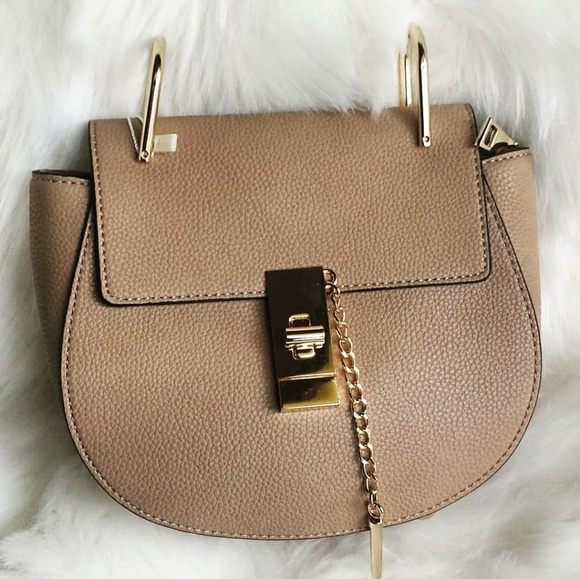 3d7a3ca75ed Bags   Designer Inspired Down Faux Leather Saddle Bag   Poshmark