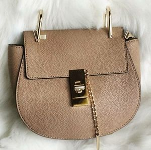 Handbags - Designer Inspired 🗝 Down Faux Leather Saddle Bag