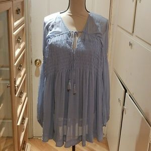 NWT FREE PEOPLE BLOUSE SIZE S