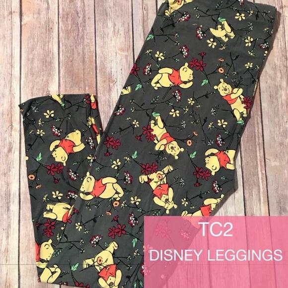 2c2e1b4707d7c1 LuLaRoe Pants | New Disney Winnie The Pooh Tc2 Leggings | Poshmark