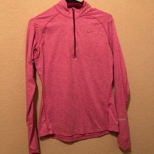 Nike (a little fitted) running thermal jacket!!