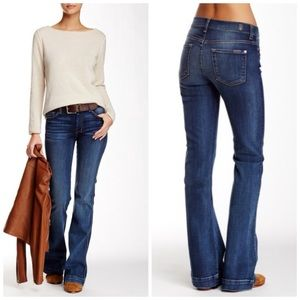 7 FOR ALL MANKIND THE SLIM TROUSER FLARE JEANS 27