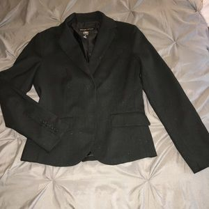 New York & Co black with pin stripes Blazer