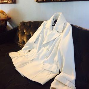 Beautiful Off-White Coat