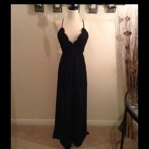 JUST IN Black Maxi dress