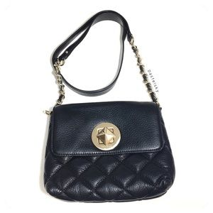 authentic KATES SPADE NY quilted shoulder bag