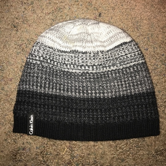 32985133 Calvin Klein Accessories | Beanie Hat | Poshmark