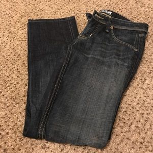 Hudson Dark Denim Sz 2S 2 Short /Petite Bootcut