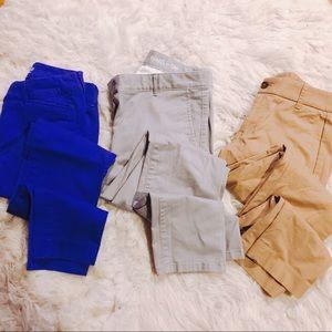 Khakis!! Khakis by Gap, light grey. Size: 0