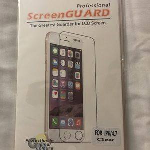 Screen protector for iPhone 5, 5s and 6 Plus
