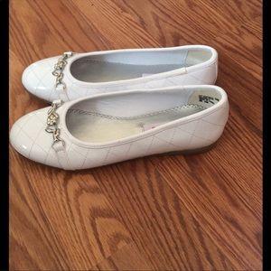 d9b0eb8e11f8 Rachel Shoes - NWOT girls white flats
