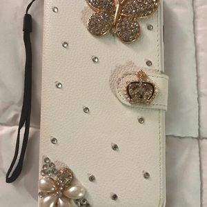 Beautifully decorated iPhone 6plus case