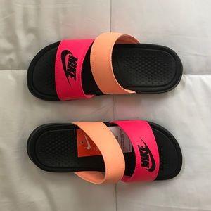 Nike duo benassi slides