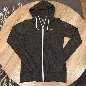 Nike Charcoal Gray Hoodie