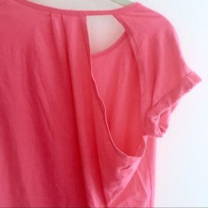 Fabletics Tops - Oversized t-shirt with sexy back