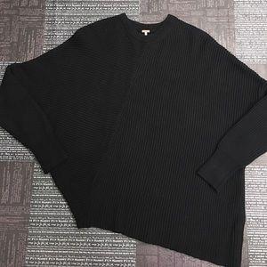 Free People black asymmetrical sweater