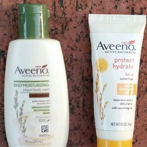 New Aveeno travel size products